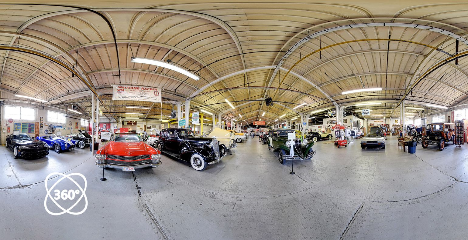 3D tour Route 66 Car Museum