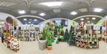 Виртуальный тур в салоне цветов Green Design