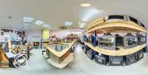 виртуальный тур по магазину каминов и печей